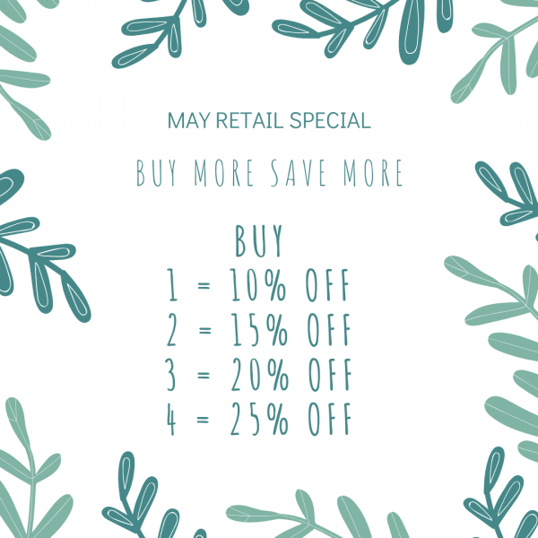MAY RETAIL SPECIAL POST