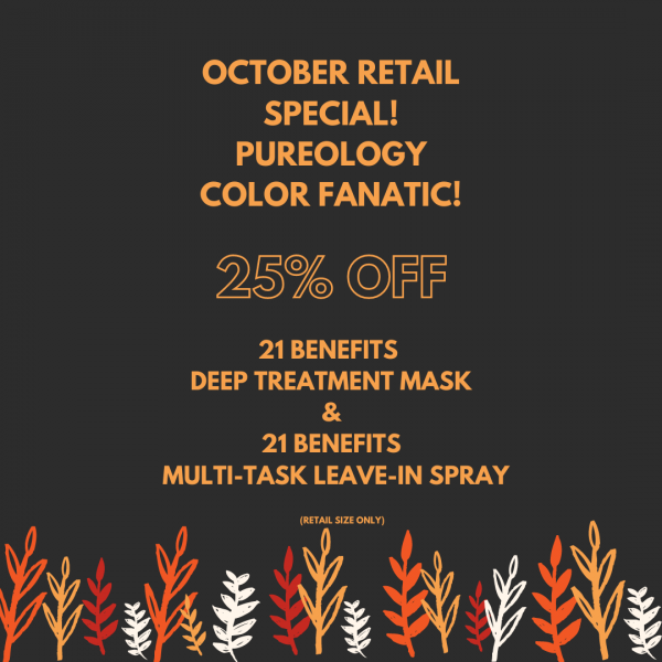 OCTOBER RETAIL SPECIAL PUREOLOGY (Instagram Post)